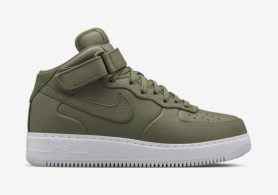 air force 1 mid verde
