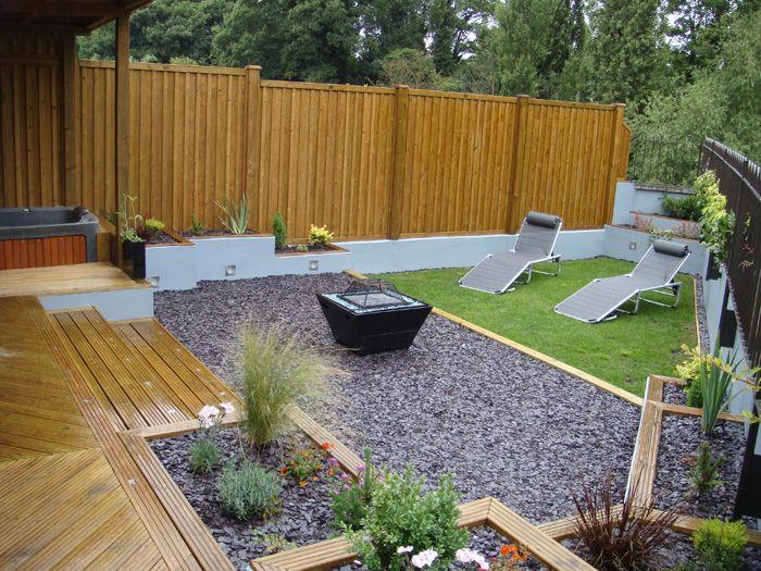 Long Thin Garden Designs Narrow Garden Garden Design Layout Low Maintenance Garden Design