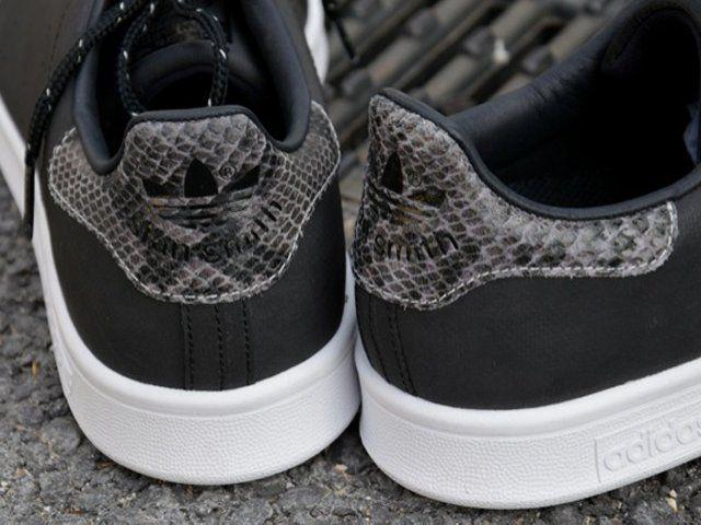 Adidas Noir Semelle Blanche