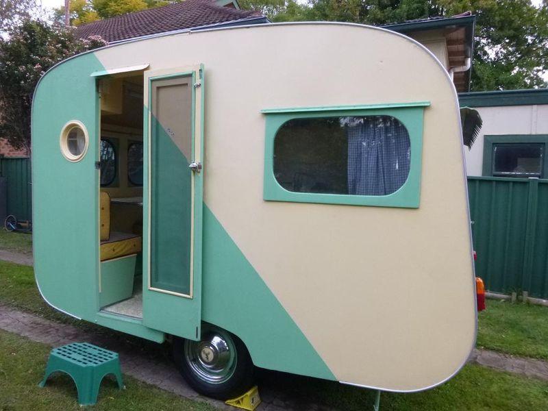 1956 Bondwood Australian vintage caravan Vintage travel
