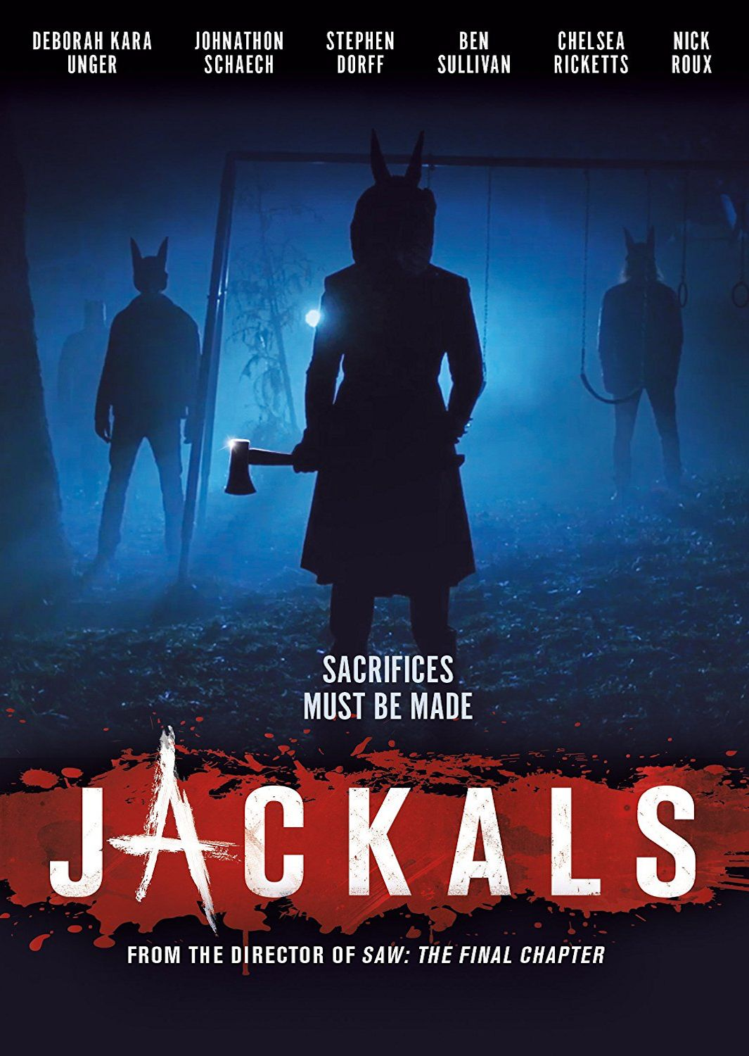 JACKALS DVD (SHOUT FACTORY) Night film, Streaming movies