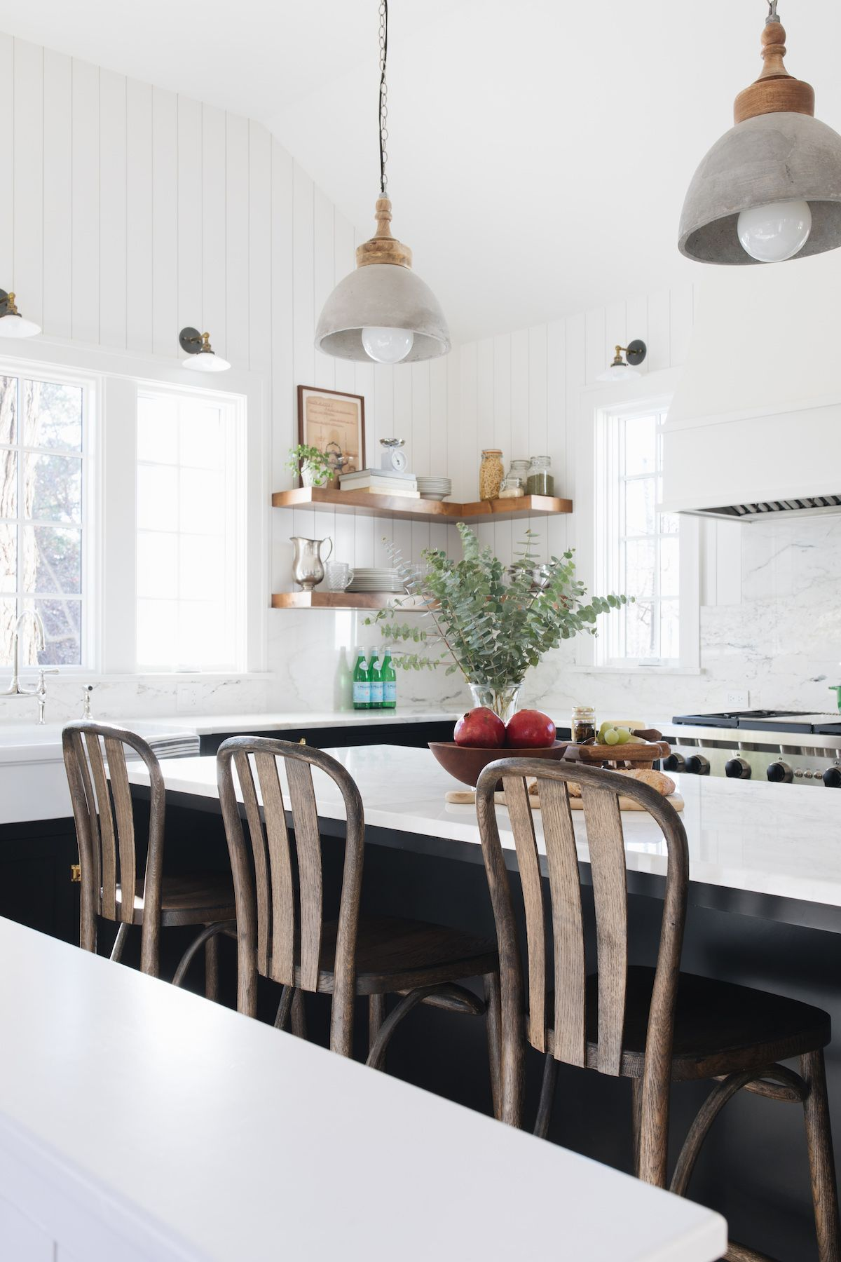 1920 English Cottage Style Home Tour Interview With Redesign Home Farmhouse Lighting Kitchen Island Lighting Pendant Kitchen Pendant Lighting