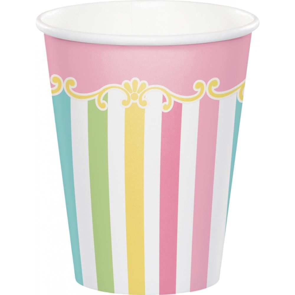 Carousel Hot/Cold Cups 9 Oz. (Case Pack Of 96)