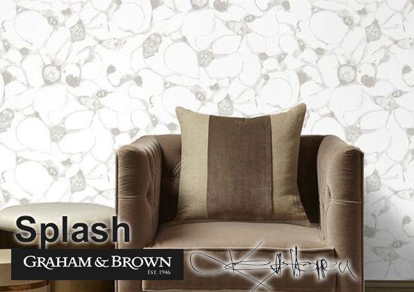 Nouveau Kelly Hoppen pour Graham /& Brown Designer papier peint 5.2 M RRP £ 29.99