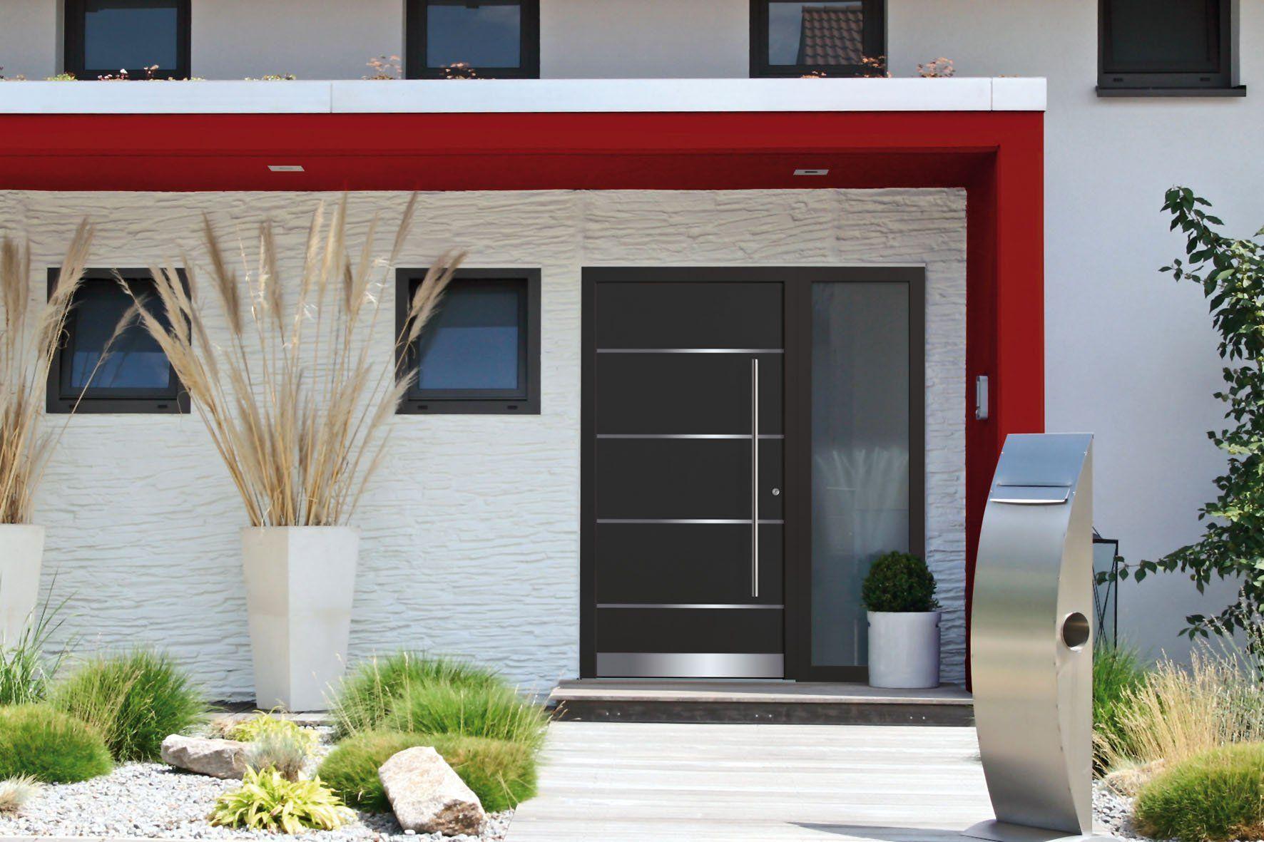 Haustüren aus neuen Verbundwerkstoffen halten buchstäblich dicht