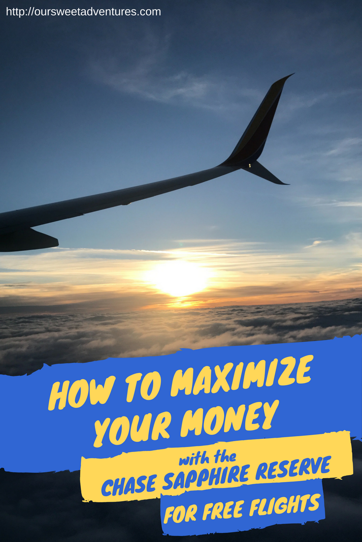 A Guide To Helping You Maximize Your Money To Receive Free Flights Around The World Chase Sapphire Travel Tips Best Travel Credit Cards
