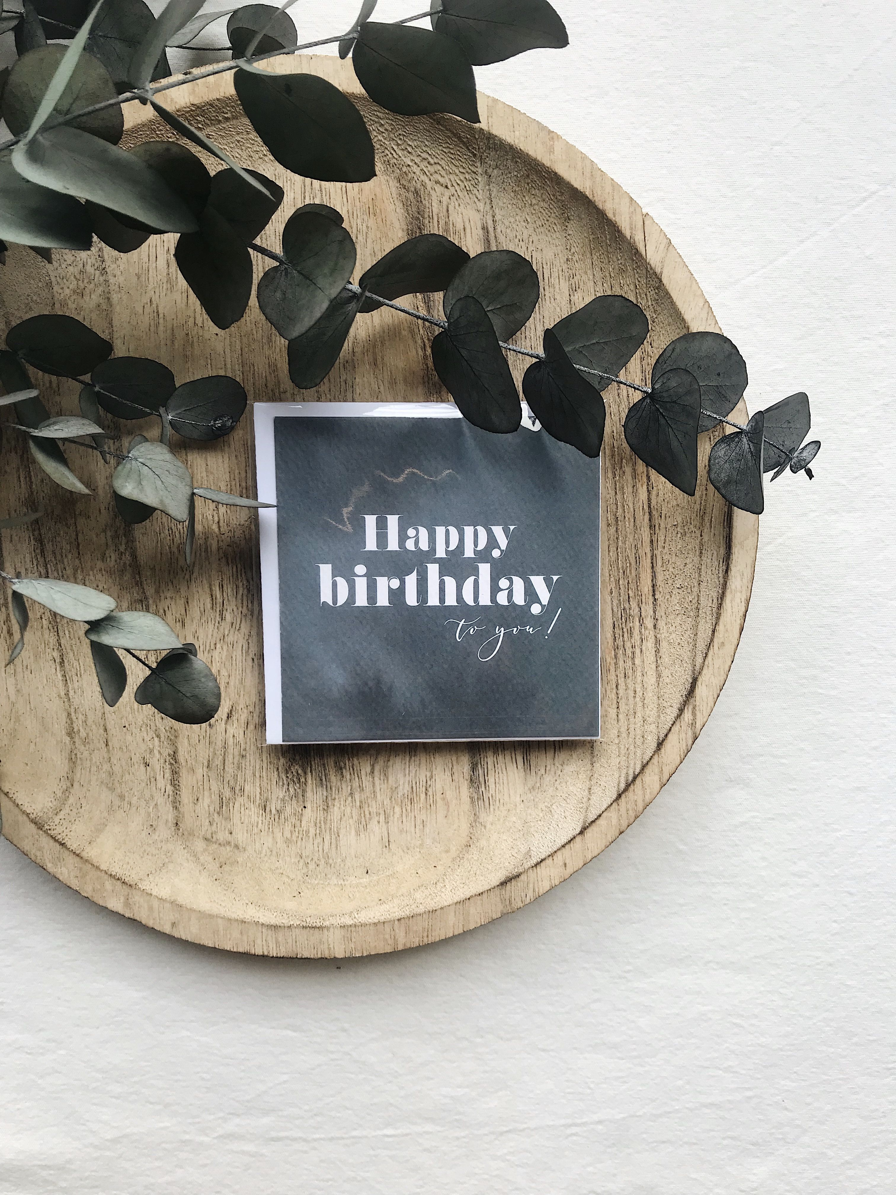 PETITE CARTE HAPPY BIRTHDAY TO YOU  SEVEN PAPER Une carte de vœux est un élément essentiel pour adresser quelques mots doux