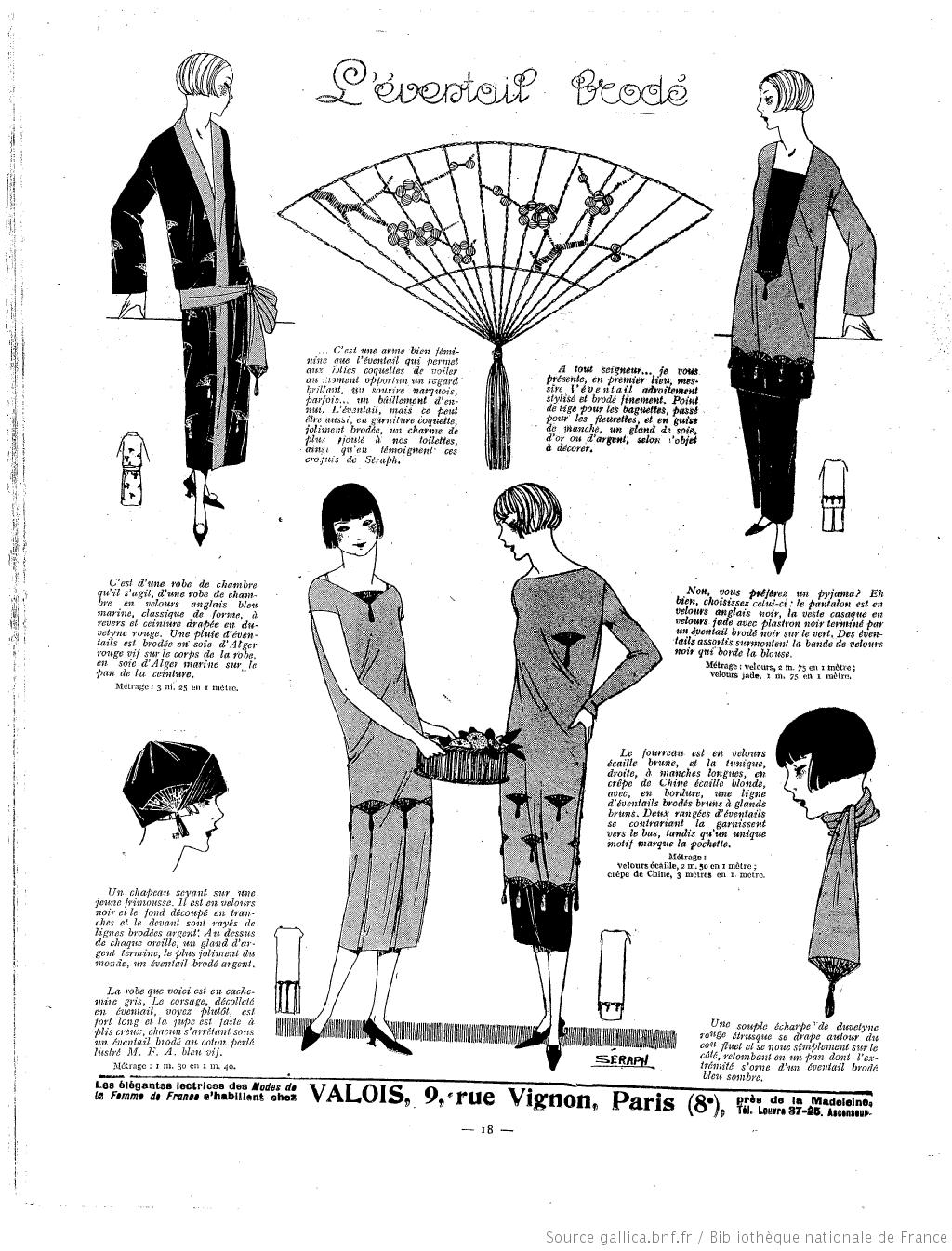 La Femme de France [ | Fashion | Pinterest | Patrones, Bordado y Coser