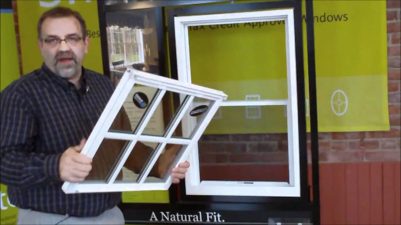 Removing Sashes From A Modernview Double Hung Or Single Hung Window With Images Single Hung Windows Double Hung Windows