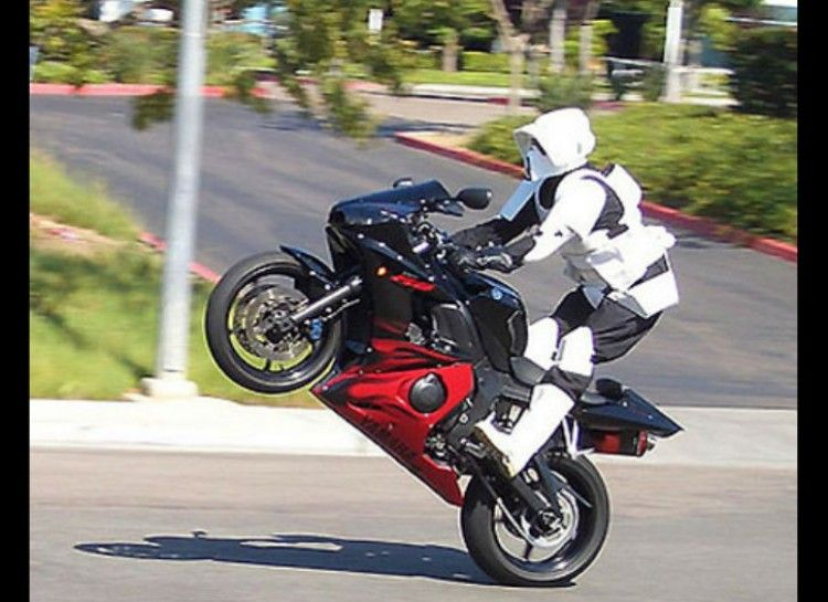 Scout Trooper motorycle outfit 20+ motorcycle helmets