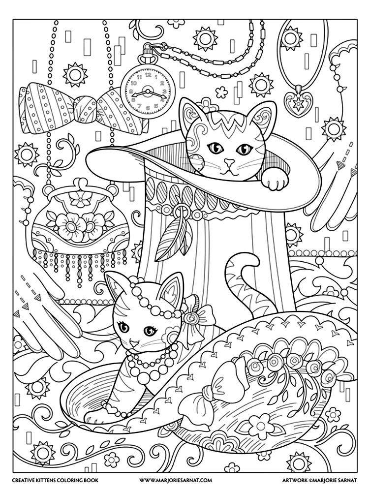 Marjorie Sarnat - Creative Kittens | manfunnesS | Pinterest ...