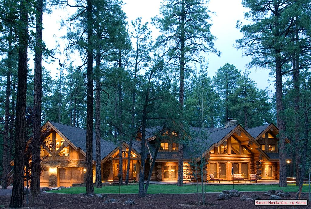 Planning A Handcrafted Log Home In The White Mountains Of Arizona. Log Home  Living Features Summit Handcrafted Log Homes.