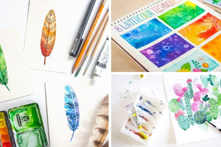 15 Best Crafts To Make And Sell Anyone Would Want Watercolor Art