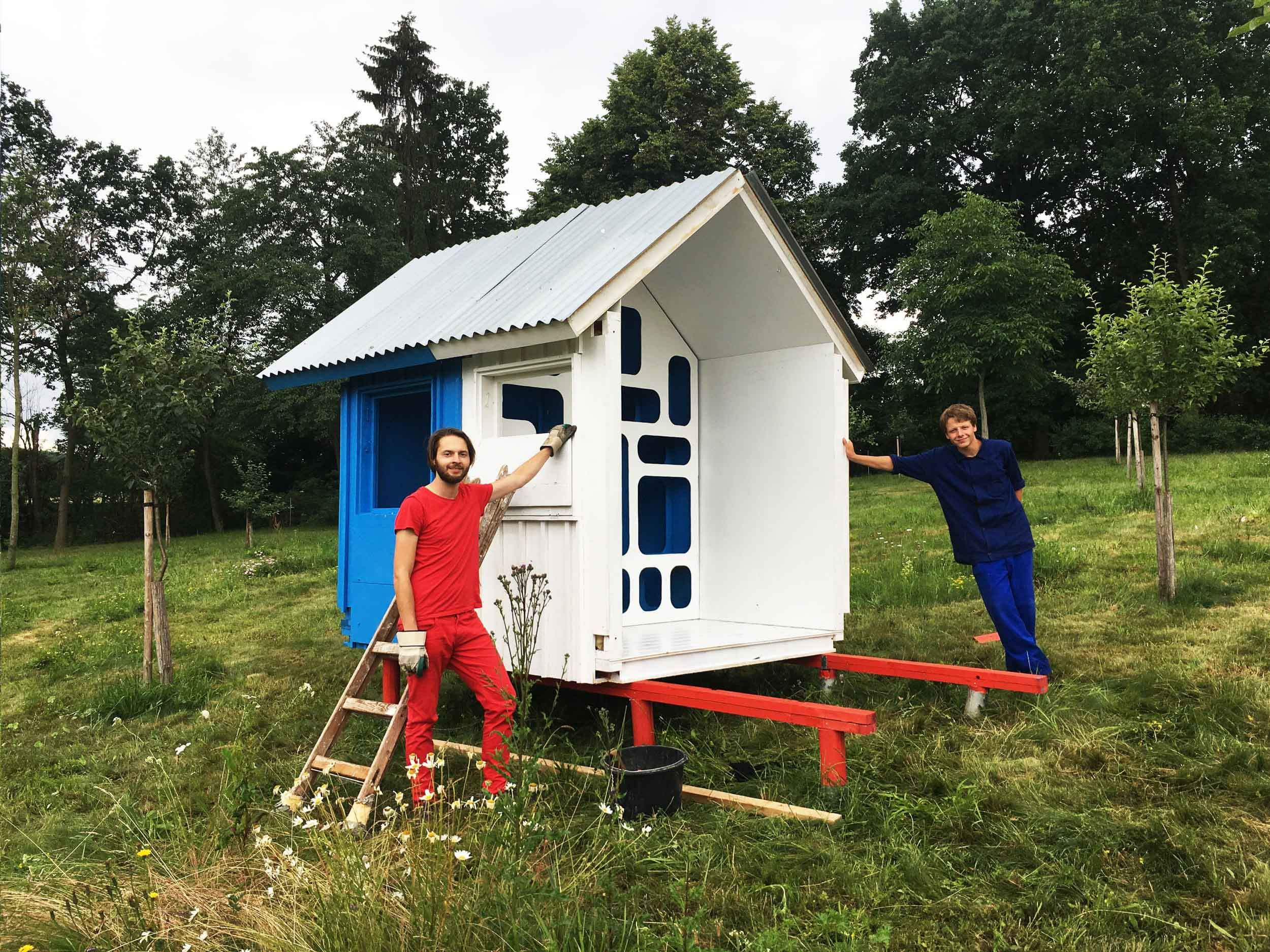 Czech Architect Designs Tiny Flat Pack House Costing Just £1,000