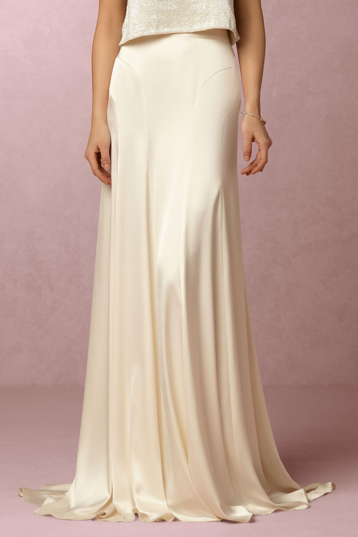Best dresses to wear to a beach wedding  Danielle Skirt from BHLDN  wedding  Pinterest  Bridal separates