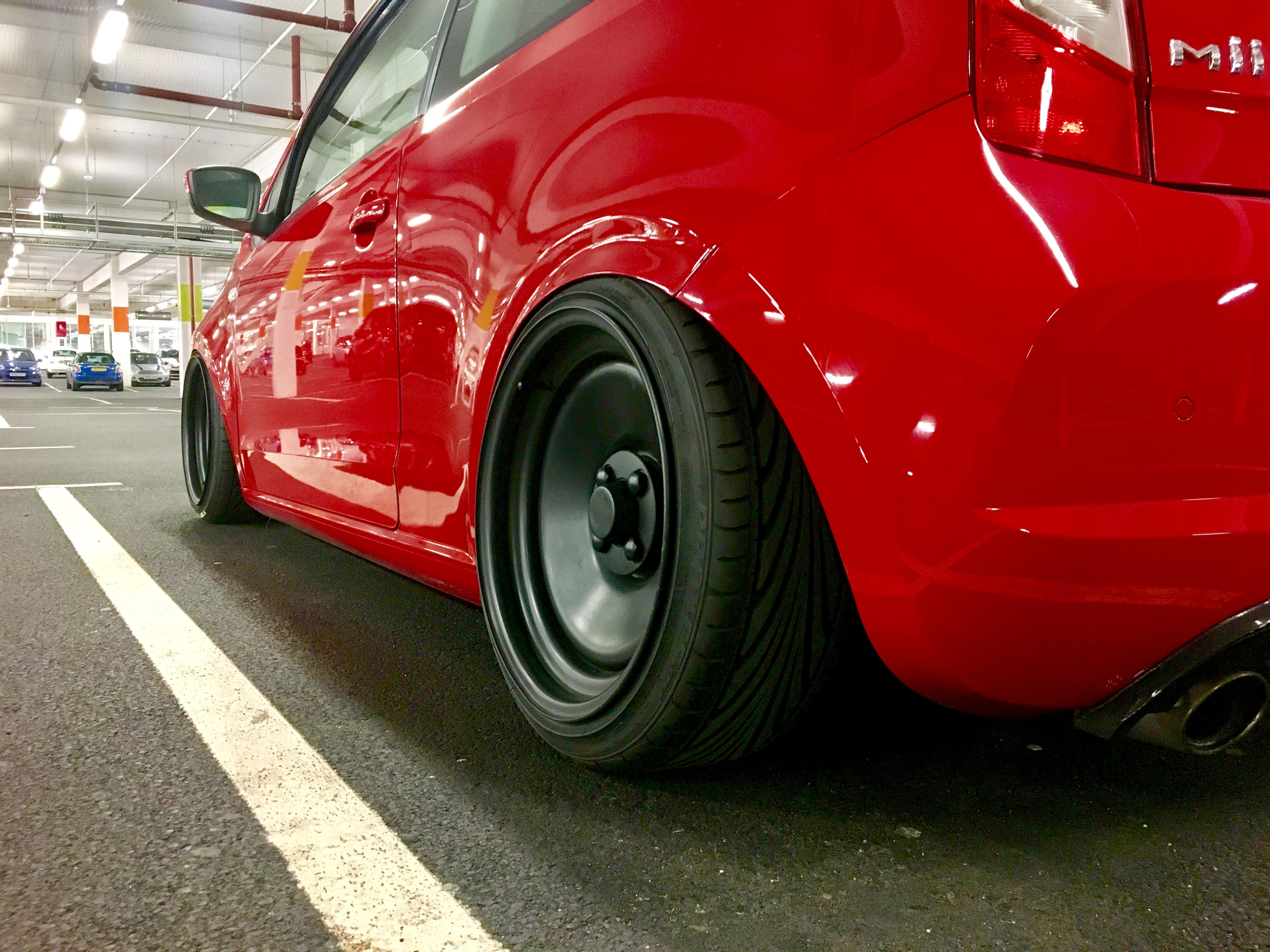 Seat Mii Satin Black Done By The Wheel Specialist Teesside