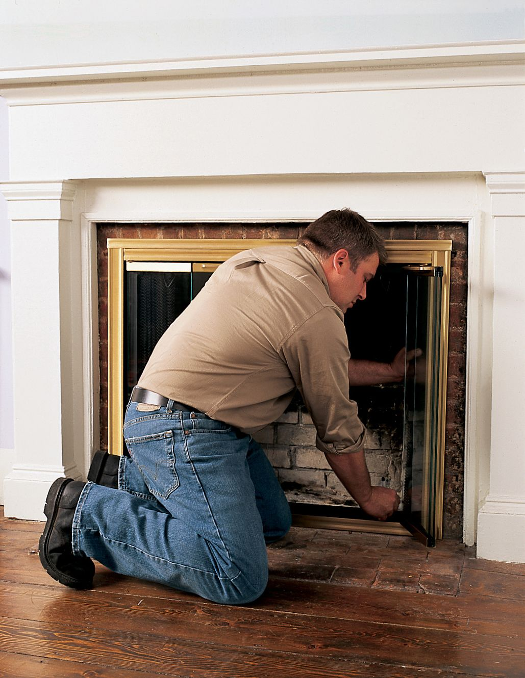 How To Install Glass Fireplace Doors Fireplace Glass Doors Glass Fireplace Fireplace Doors