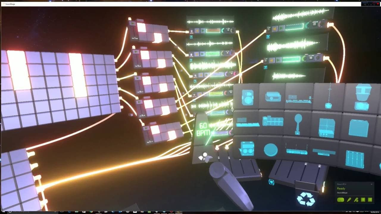 Soundstage VR Triggering Sequences UI참고용