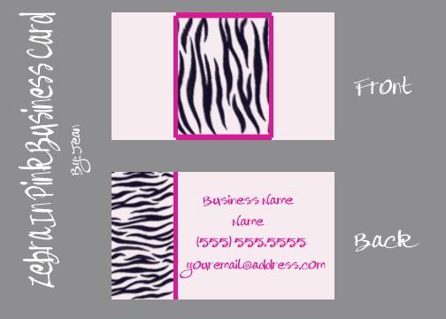 Zebra Business Card Templates Free PSD File By Jeaniem12  http://www.businesscardszone.com/zebra-business-card-templates-free-psd-file-by-jeaniem12-2013-01-29/