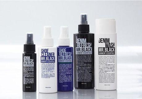 オーストラリア発のデニム・シューケア用品ブランド MR.BLACK GARMENT ESSENTIALS