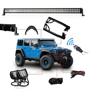 The 9 Best Jeep Light Bars Jeep Led Light Bar Jeep Wrangler
