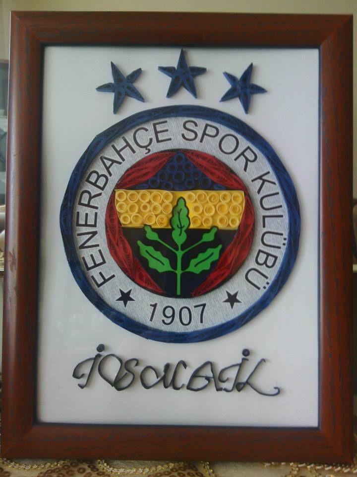 Isme Ozel Fenerbahce Logolu Tablo Tablolar