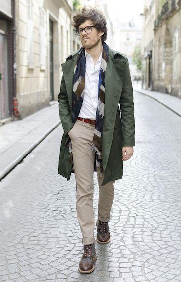 Le trench kaki BonneGueule x Ly Adams   Mens wear   Mens fashion ... de2e1442fcfe