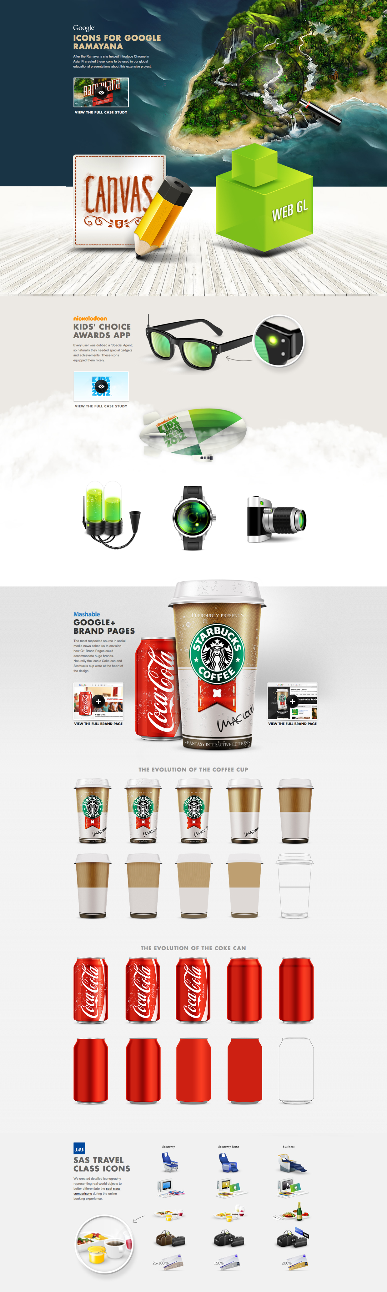 Iconography by Fi | #icon #iconography #webdesign #Fi #case