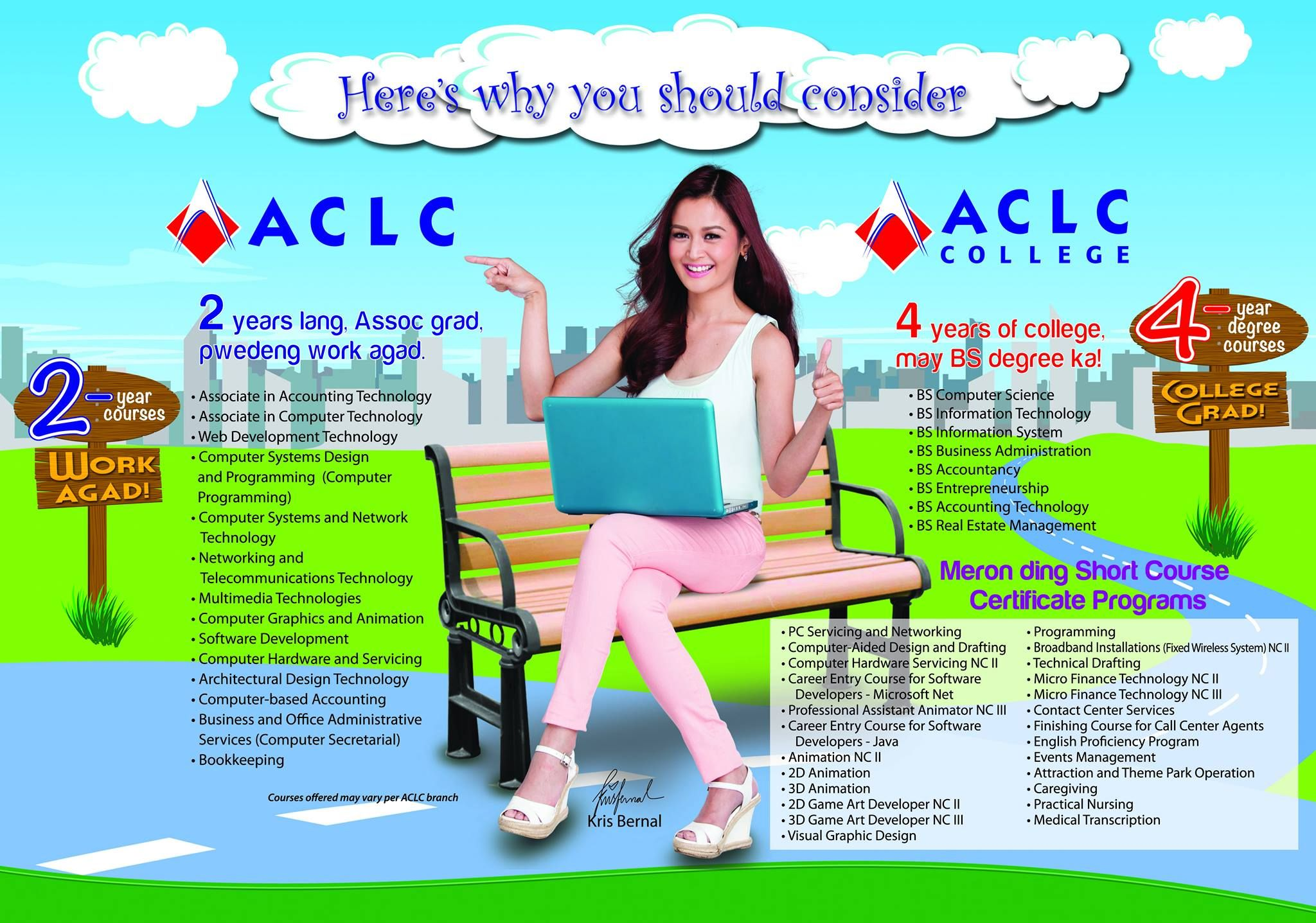 2 years 3 years or short course certificate program sa aclc 2 years 3 years or short course certificate program sa aclc madami kang xflitez Images