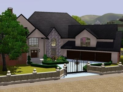 villager house by trin303 - sims 3 downloads cc caboodle | sims ... - Sims 3 Wohnzimmer Modern