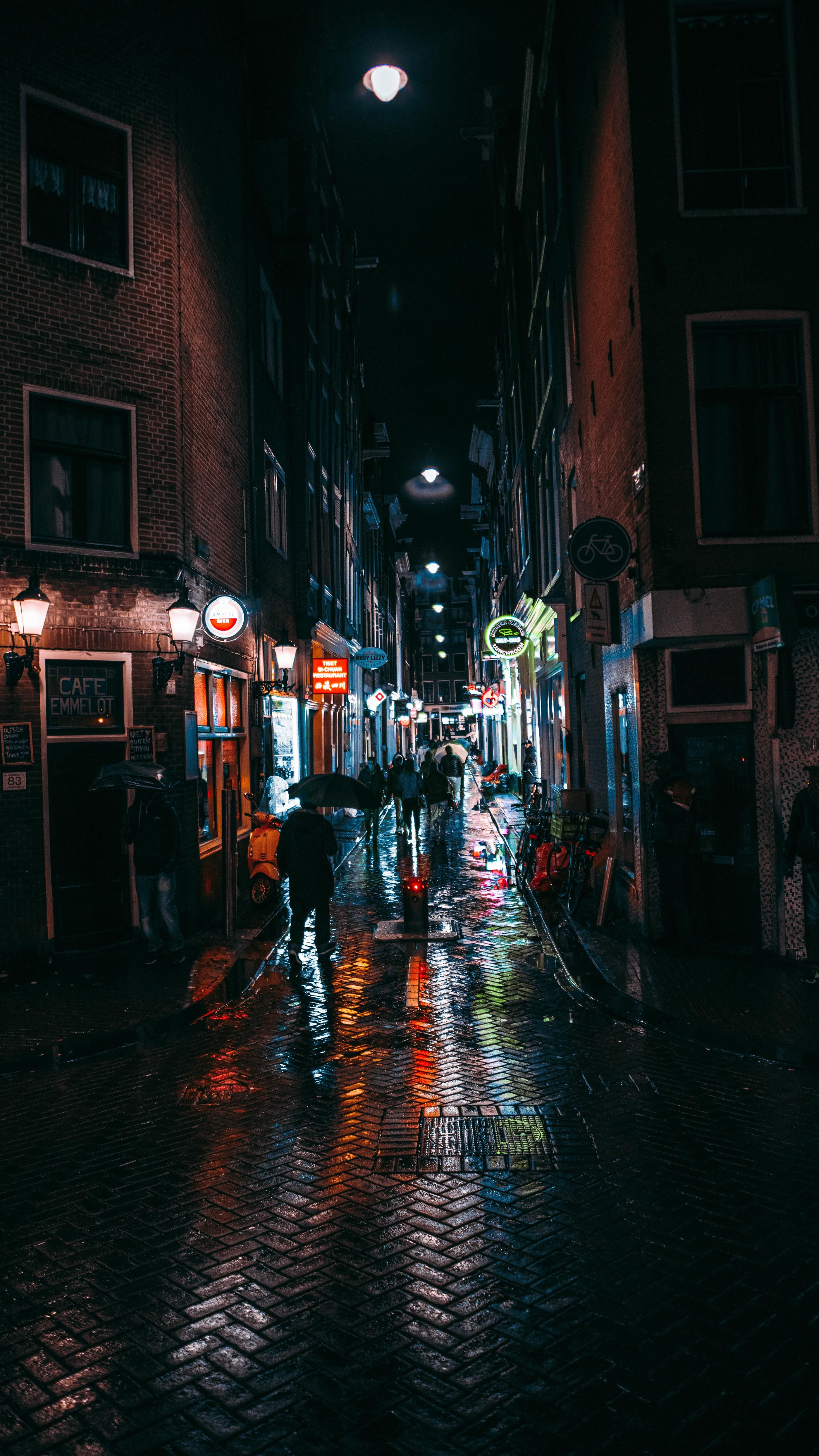 Rainy Gb City Rain Rain Wallpapers Night City