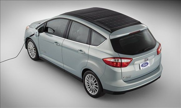 Ford C Max Solar Energi Concept This Concept Can Recharge Its