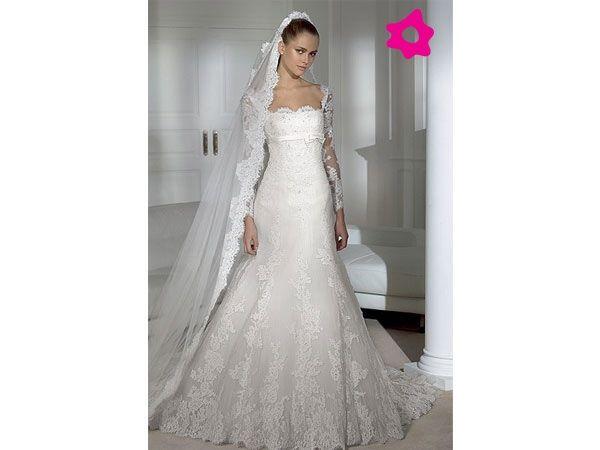 Vestidos de novias | Moda | Pinterest | Vestidos de novia, De novia ...