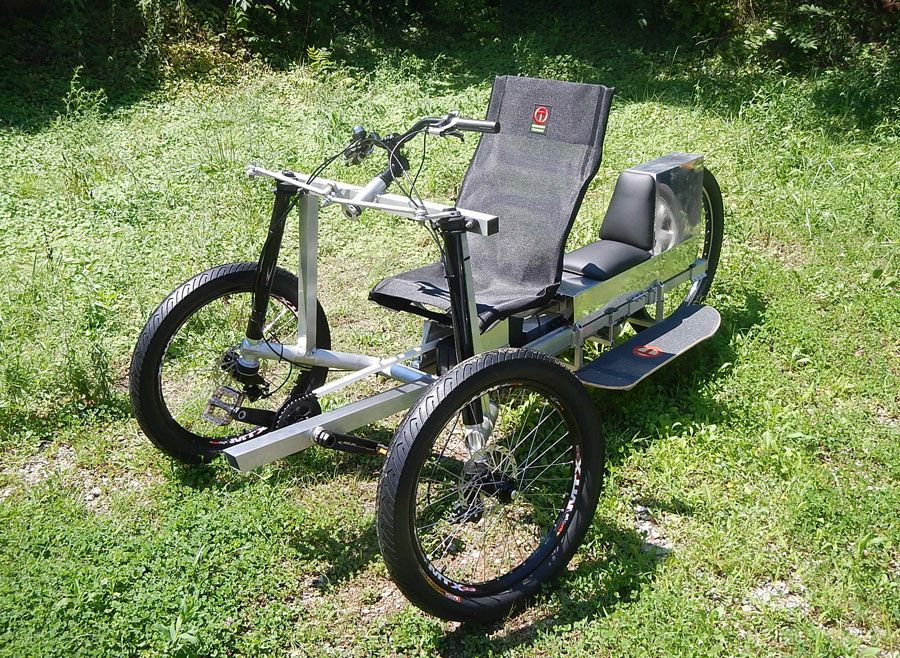 naked elf e trike electric bike news pinterest electric trike recumbent bicycle and third. Black Bedroom Furniture Sets. Home Design Ideas