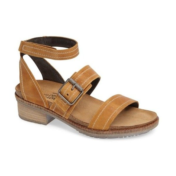 Women's Naot Beatnik Sandal ($170) ❤ liked on Polyvore featuring shoes,  sandals,