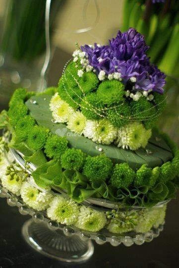 Gateau De Fleurs Miam Art Floral Pinterest Cake Centerpieces