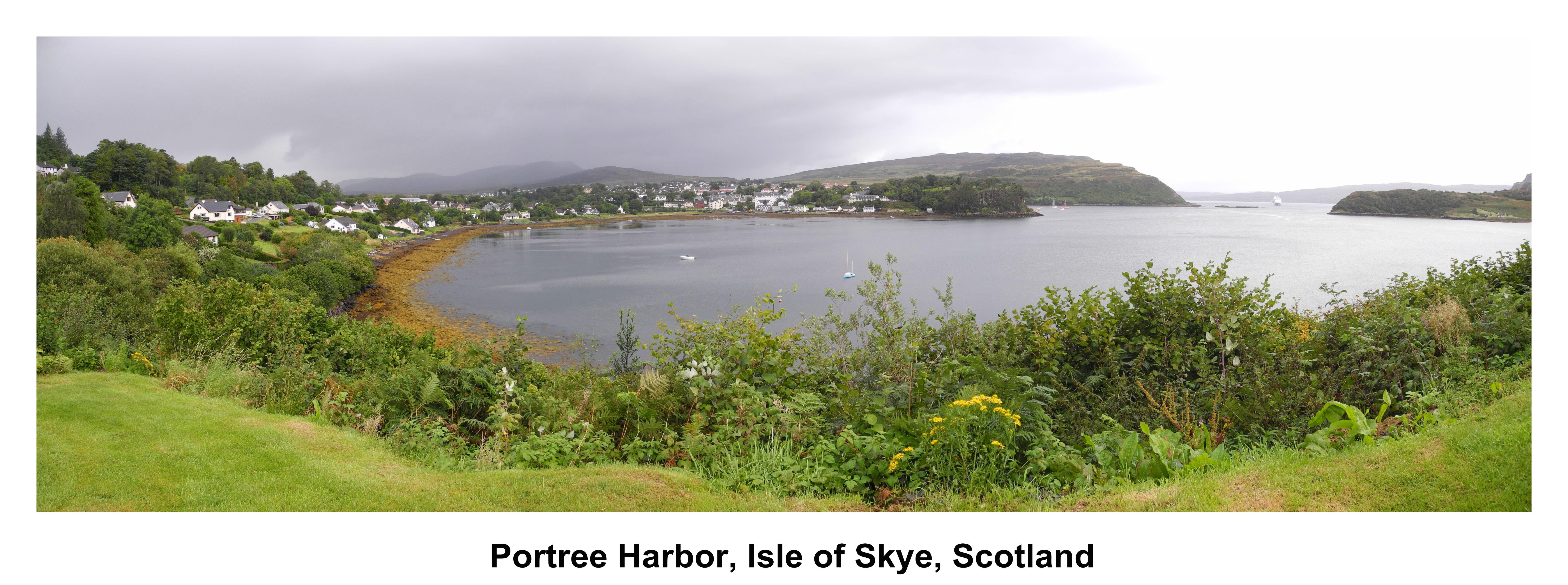 Portree Harbor, Isle of Skye, Scotland #2