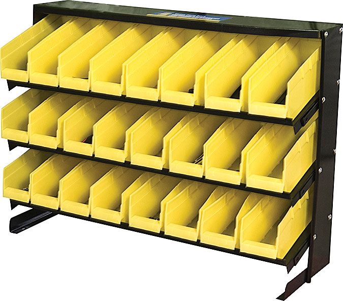 24 Bin Storage Rack Princess Auto