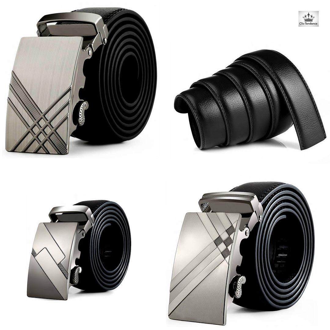 d30a216c3a5f Ceinture Metal Design Gravé - Homme Boucle Automatique A Ceinture Homme  Design, cette ceinture est
