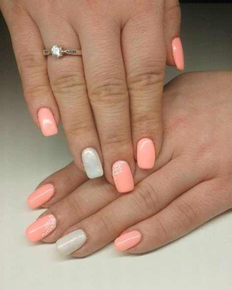 Peach Nail Art Designs And Ideas 2016 2017 With Images Peach