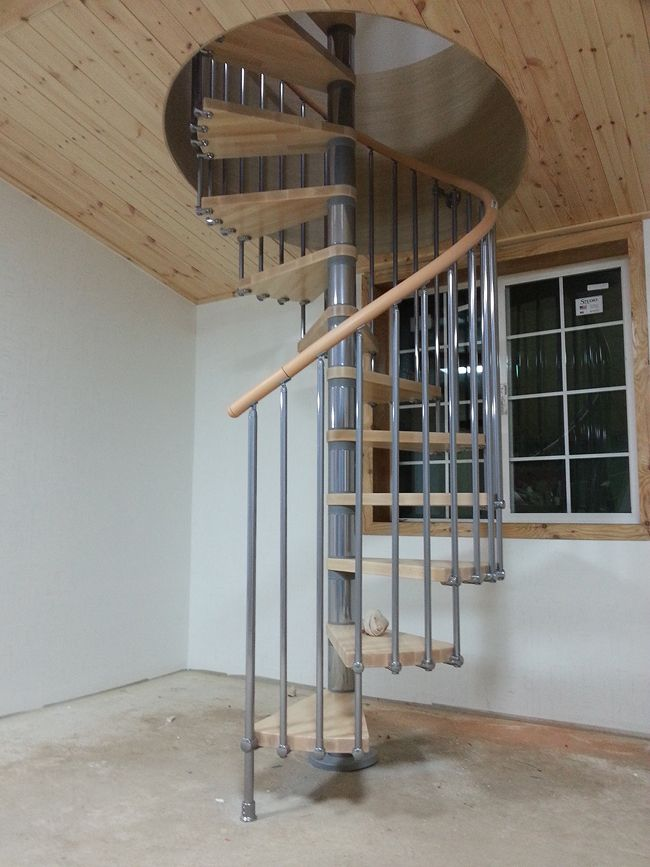 Best Fontanot Pixima Ring Spiral Staircase Staircase 640 x 480