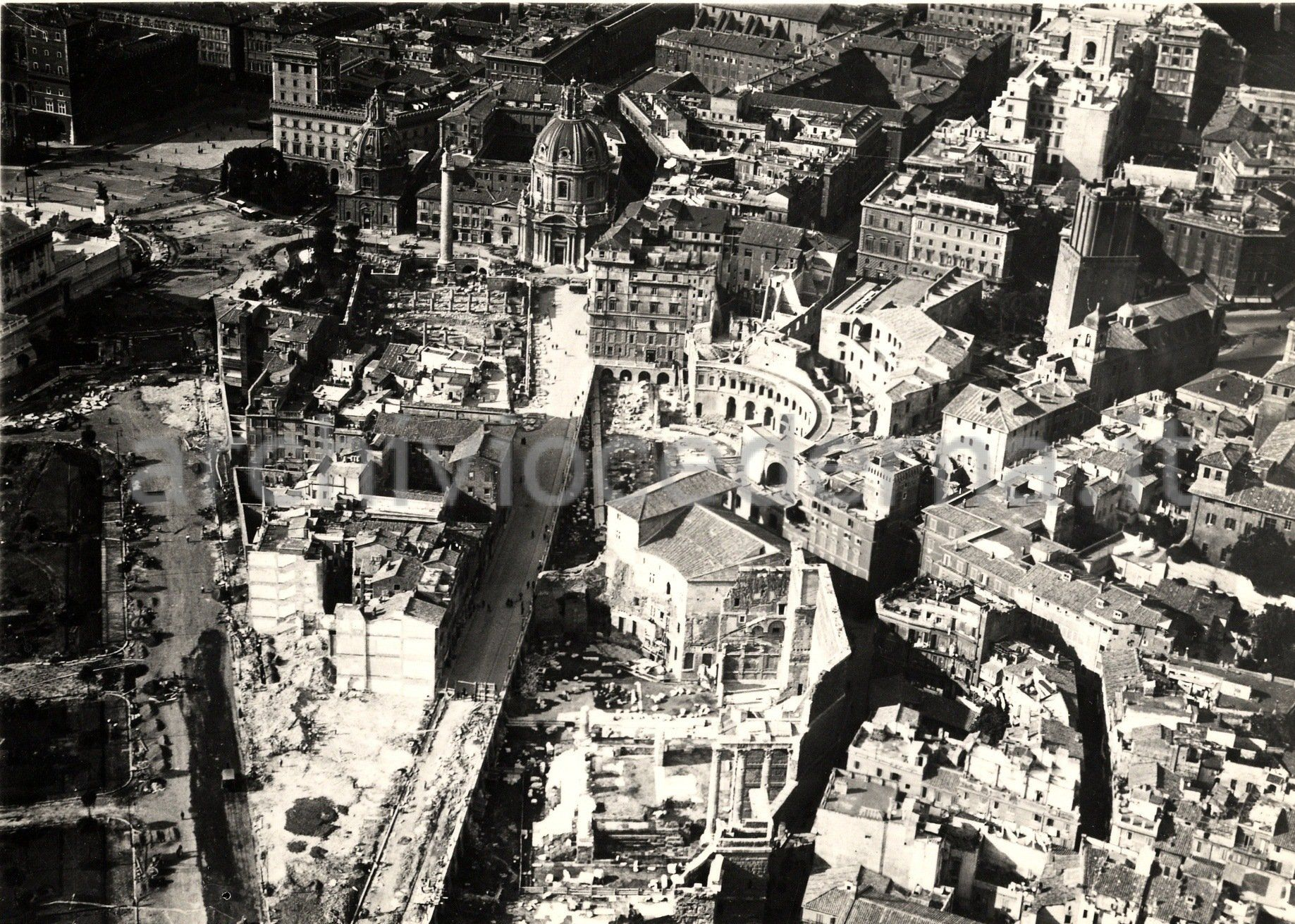 Foro Mussolini poi Italico in costruzione ripresa aerea del 1933 AAA Foto Storiche Roma Pinterest