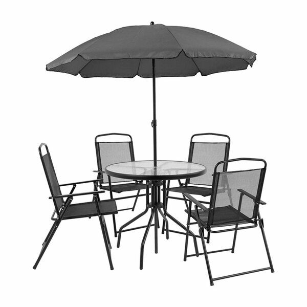 Dante 6 Piece Dining Set With Umbrella In 2019 New House