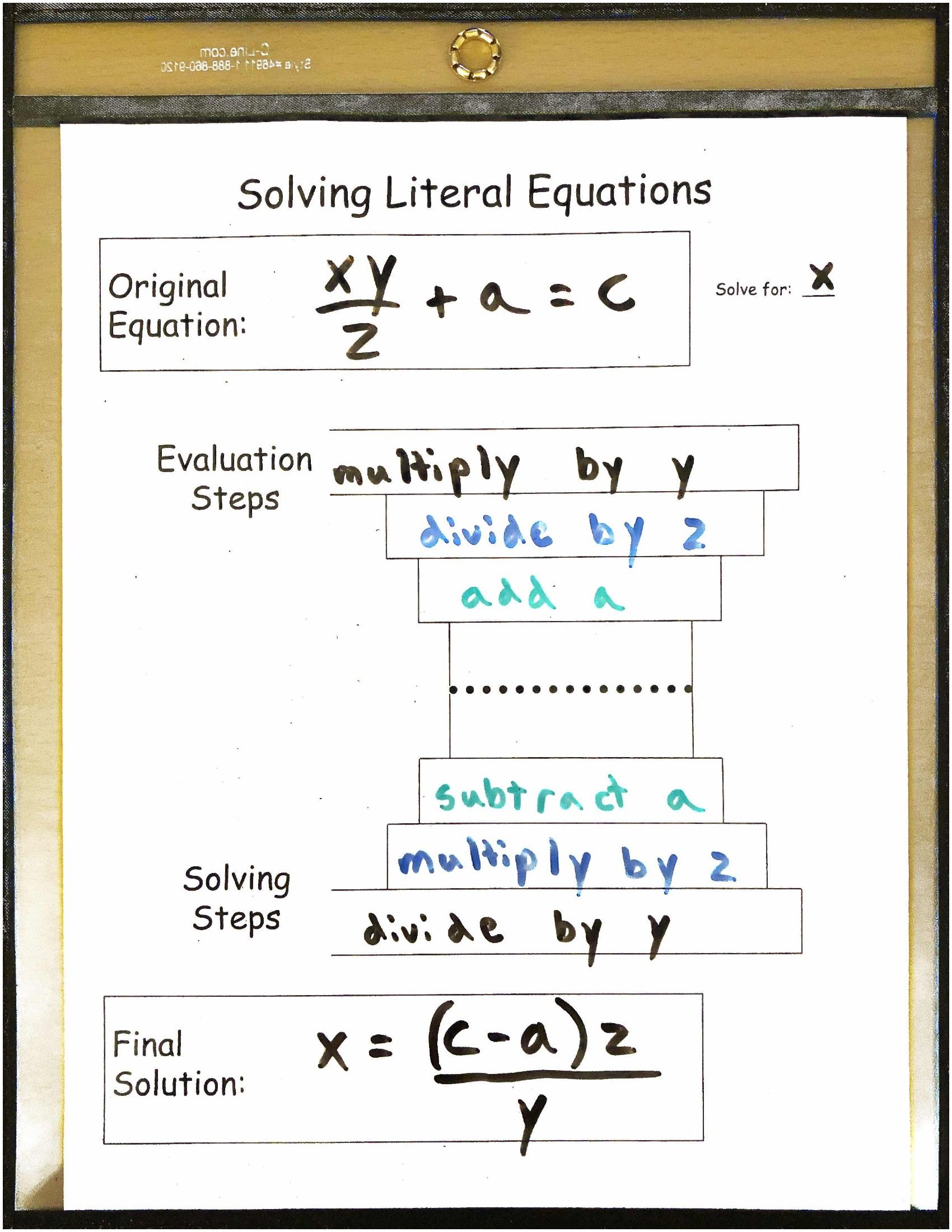Equation Solver Exponents