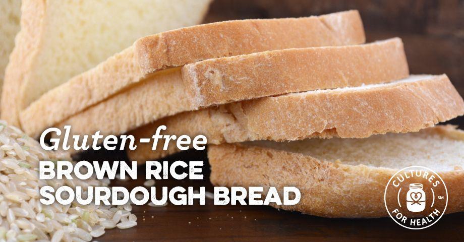 Gluten Free Brown Rice Sourdough Bread Recipe Recipe Gluten Free Sourdough Bread Dairy Free Recipes Easy Sourdough Bread