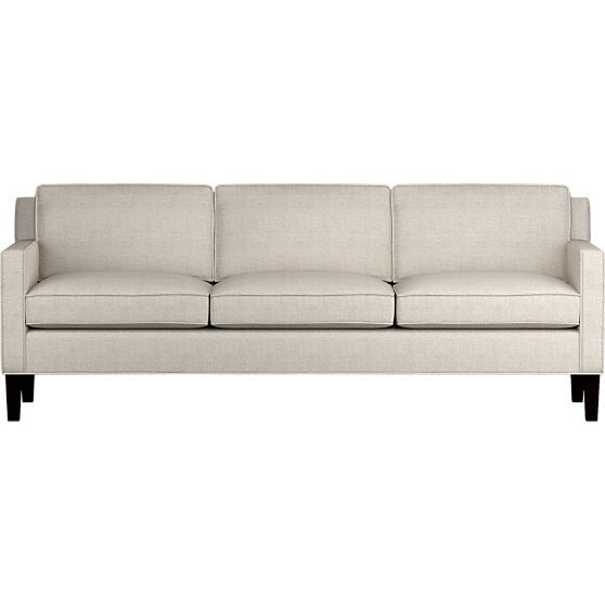 Vaughn Sofa Crate And Barrel Made In Nc 1699 Not In Local Store