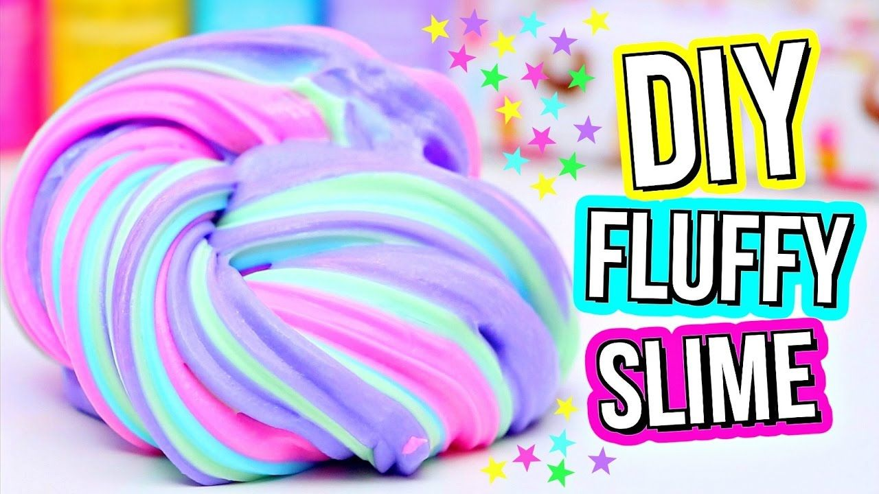Diy Fluffy Slime Recipe