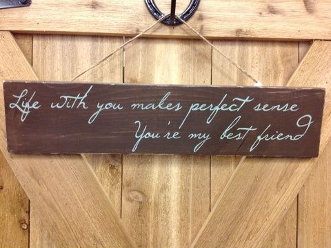 These Handcrafted Wooden Signs Feature Lyrics From Your Favorite Country Songs They Make Great Pieces For Home Decor