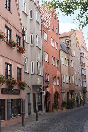 Die Augsburger Altstadt