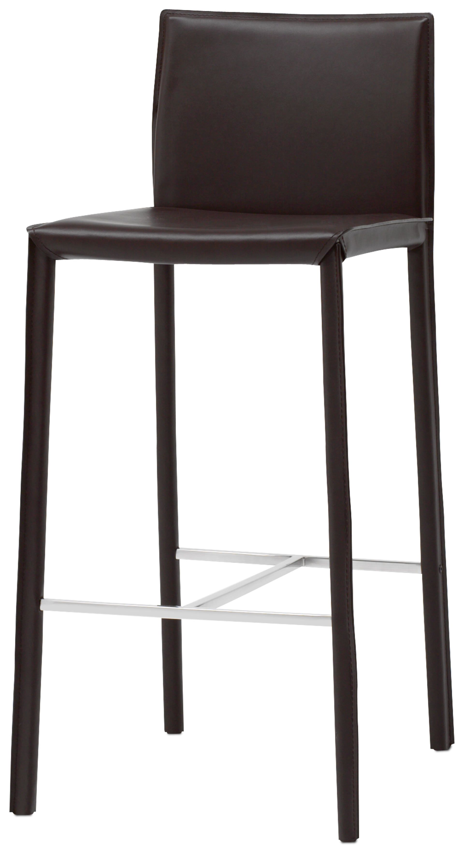 Zarra Barstool Save Now Was Zarra Barstool Black Bonded Leather